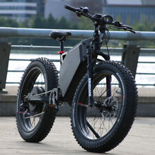 Super Fat Tire 5000W Electric Mountain Bike 80km/h.
