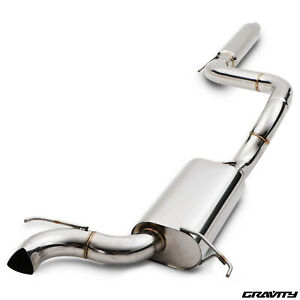 STAINLESS CAT BACK SPORT EXHAUST SYSTEM FOR VAUXHALL OPEL CORSA D 1.6 TURBO VXR