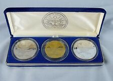 Collectible Coins The Heroes of Desert Storm 1991 Commemorative Three Coin Set