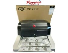 Gbc Foton 30 Automated Pouch Free Laminator Starter Film Included Scuffs