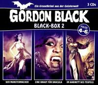 BLACK-BOX 2 (FOLGE 4-6) (SAMMLER-EDITION) - GORDON BLACK  3 CD NEW