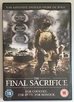 The Final Sacrifice (DVD, 2011) War Rear Defense Action Film, Region 2