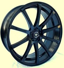 22x8 White Diamond WD-3196 5x114.3/120 Gloss Black Custom Wheel (SINGLE WHEEL)