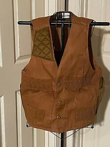 Vintage Sears Game Pouch Hunting Vest Size M 38-40