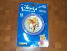 Batería de Disney Push Luz Iluminación de la habitación de bebé de muebles infantiles nueva tarjeta de la ampolla