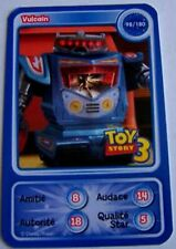 CARTE COLLECTOR DISNEY PIXAR AUCHAN 2010 NUMERO 98 VULCAIN TOY STORY 3