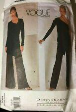 Vogue Patterns 2064 Donna Karan Vogue American Designer Top Pant Size 12, 14, 16