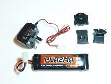 HPI E-Firestorm Plazma Akku 8,4V NiMh 2000mAh #H106037 + Ladegerät #H113684, NEU