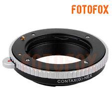CYG-NEX Adapter for Contax G CYG Lens to Sony E NEX 3 NEX 5 C3 5C 5N 5R A6000