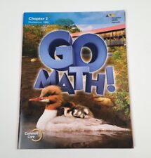 Go Math!: Student Edition Chapter 2 Grade 2 2015 -Like New