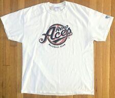RENO ACES T-SHIRT - MENS XL - WHITE, RED & BLUE - MINOR LEAGUE BASEBALL RENO, NV