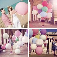 11color 36 Inch Giant Big Ballon Latex Birthday Wedding Party Helium