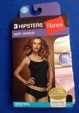 Hanes Satin Regular 8 Panties for Women