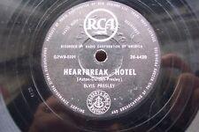 ELVIS PRESLEY 78 RPM HEARTBREAK HOTEL / I WAS THE ONE NEW ZEALAND RCA 20-6420