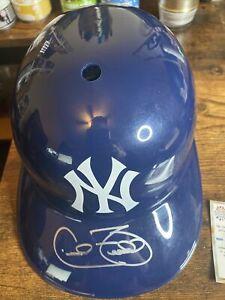 Cecil Fielder Autographed Replica New York Yankees Batting Helmet