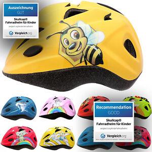 SkullCap® Fahrradhelm für Kinder, Mädchen & Jungs Kinderhelm Fahrrad Helm Kinder