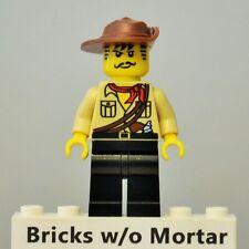 New Genuine LEGO Johnny Thunder Minifig The Lego Movie 70815