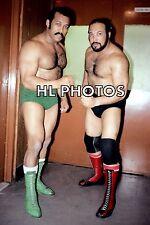 4x6  WRESTLING PHOTO  JOHNNY RODZ & JOSE ESTRADA   TT2053     wwe   tna