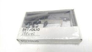 One New IKEA BETYDLIG Wall Ceiling Bracket black Adjustable Rod Holder SEALED