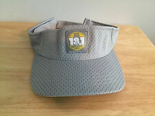 RARE Toby Mac 13.1 Mile Benefit Run Nashville, TN 2011 Gray Sun Visor, Hat Cap