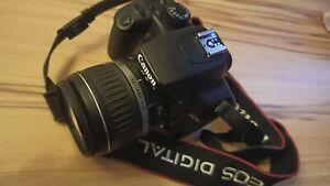 Canon EOS 1000D / EOS Digital Rebel XS 10.1MP Digitalkamera - Schwarz (Kit mit …