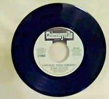 KING FLOYD Everybody Needs Somebody - Mono/Stereo 45 RPM  Chimneyville vinyl