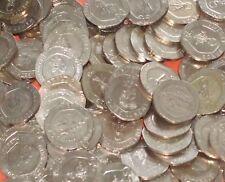 Gibraltar - Bulk lot of 40x 20 Pence 20p Coins