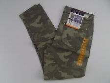 Seven 7 women's TummyLess high rise skinny jeans pants camo size 12