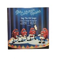 The California Raisins Sing The Hit Songs Record LP vinyl Grapevine 1987