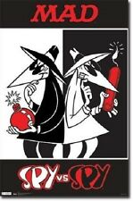 Mad Magazine Comic Book Character Spy Vs Spy 22x34 Poster New Fast Free Shipping