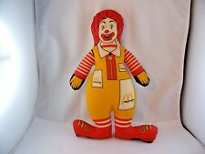 Ronald Mc Donald Clown Puppe selten