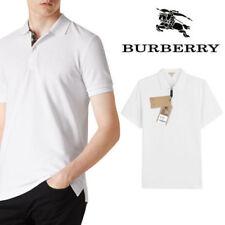 ORIGINAL BURBERRY BRIT POLO WHITE SIZE S BIANCO UOMO MEN'S CLASSIC
