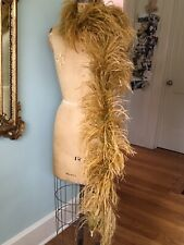 Fabulous Vintage Ostrich Feather Boa Costume Party Occasion Holly Go Lightly