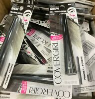 Wholesale Lot Of 50 Covergirl Easy Breeze Brow Powder 800 Black - FREE SHIPPING