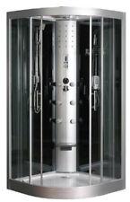 Cabine de douche Hydro Massante LT Aqua+ quart de rond