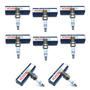 8 OEM BOSCH Plugs Spark Plug Kit Set High Power For BMW 550i 650i 750i 750Li X5