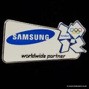 Olympic Badge London 2012 Samsung Official Partner Badge. VERY RARE