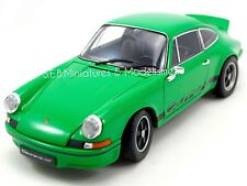 Porsche 911 CARRERA RS 2.7 1973 VERTE 1/18 WELLY