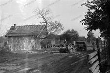 Photo Negativ-Beute Panzer-Tank-sd.kfz-Kettenschlepper-Wehrmacht-Lkw-6.Armee