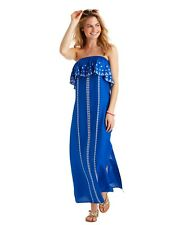 Vineyard Vines Embroidered Maxi Dress Size 4~NEW