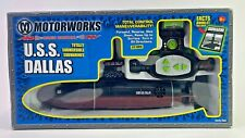 "U.S.S. DALLAS - NAVY SUBS MOTORWORKS 14"" REMOTE CONTROL SUBMARINE RC SUB"
