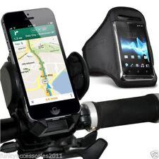 Fundas y carcasas brazaletes color principal negro para teléfonos móviles y PDAs Universal