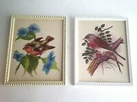 """Vintage Mid Century PH Gonner Paper Picture 5X3"""" & Unsigned Picture Resin Frame"""