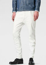 G-STAR Raw ARC 3D Slim Jeans Hose Weiß Herren Größe W32 L36