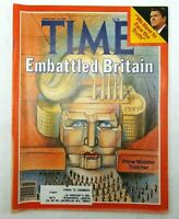 Time Magazine February 16 1981 Embattled Britain PM Margaret Thatcher