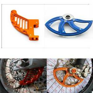 Motor Front Rear Disc Rotor Brake Guard Protect For SX SXF 125 250 450 2015-2018