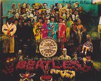 Peter Blake HAND SIGNED 8x10 Photo, Autograph, Sgt Pepper Artist, The Beatles B