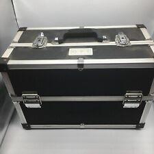 OPI Professional Travel Train Case Storage Organizer Metal