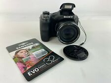 Sony Cyber-Shot DSC-H300 Black Digital Camera - 20.1 MP w/Memory Card 32GB