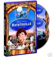 DISNEY DVD Ratatouille - (2 dvd) con slipcover in rilievo e ologramma prima ed.